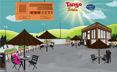 DESIGN PAGE GAME CAFE BY TANGO TRIVIA