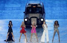 Juegos Olímpicos Londres 2012 - Las Spice Girls durante la ceremonia de clausura.