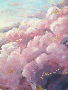 Art Du Croquis, Art Sur Toile, Aesthetic Painting, Aesthetic Art, Painting Techniques, Painting Tools, Painting Art, Pink Painting, Painting Tutorials