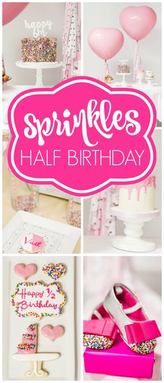Sprinkled with Love    Sprinkle Birthday Party    Confetti Birthday - fresh birthday party invitation message to friends
