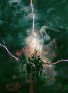 Christopher Shy Poster Caça Fantasmas