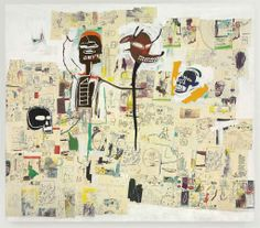 Jean-Michel Basquiat (1960-1988)  Peter and the Wolf
