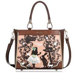 312fdcc67f53 Alice In Wonderland Classy Handbag