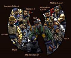 Wu Tang Clan @Aurélien 7.com