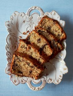 Chocolate and Banana Loaf - The Happy Foodie