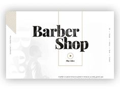 Concept No. 1 – Barber Shop – Animation