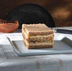 Terrine de foie gras au pain d'épices et aux fruits secs
