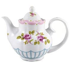 teapot << This looks like one of the many teapots that adorned my mother's cabinet
