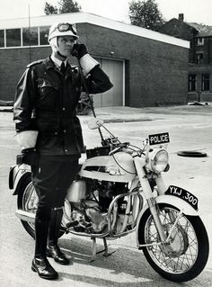 Norton Commando Patrol 1963 | by Greater Manchester Police