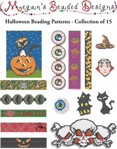 $$$... Halloween Collection: 15 Patterns at Sova Enterprises