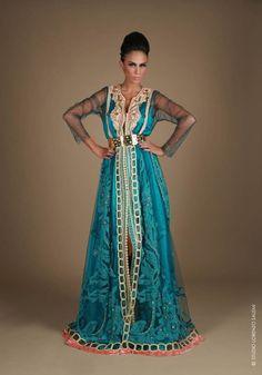 L'art du Caftan par Meriem Belkhayat Couture – Culture Chérifienne