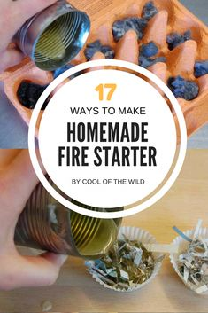 17 Simple Ways to Make Homemade Fire Starter I have been lighting fires since I was about 8 – around about the same time as I fell in love with camping. So you'd think I'd be pretty good at i Camping Glamping, Camping Meals, Camping Hacks, Backyard Camping, Scout Camping, Camping Hammock, Kayak Camping, Truck Camping, Camping Stuff