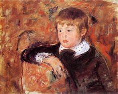 Master Robert Kelso Cassatt, 1882  Mary Cassatt