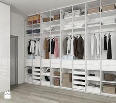 Aranżacje wnętrz - Garderoba: NOWOCZEŚNIE - Garderoba - KOMANDOR WARSZAWA - Szafy, garderoby, meble na wymiar. Przeglądaj, dodawaj i zapisuj najlepsze zdjęcia, pomysły i inspiracje designerskie. W bazie mamy już prawie milion fotografii!