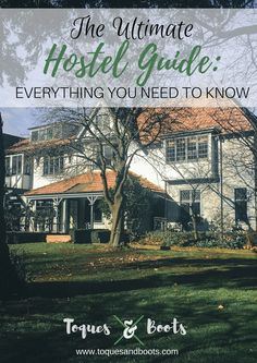 Hostel stays can be scary if you've never been. This Ultimate Hostel Guide teaches you everything you should know about booking and staying in a hostel.
