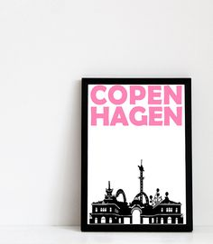 Copenhagen Print: Tivoli.  This print is professionally printed on acid-free archival matte paper (230 g). It is water-resistant and guaranteed not to
