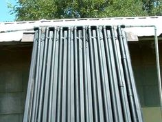 DIY Home Made CIRCULATING Solar Water Heater