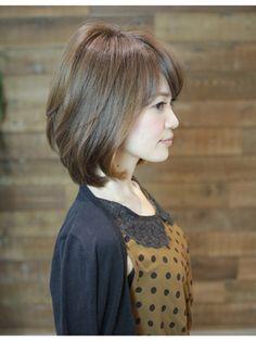 銀座XELHAアフロート トップふんわり大人ボブ - 24時間いつでもWEB予約OK!ヘアスタイル10万点以上掲載!お気に入りの髪型、人気のヘアスタイルを探すならKirei Style[キレイスタイル]で。