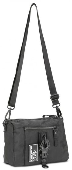 Damenschultertasche George Gina & Lucy all in Black GGL The Drops Nylons, George Gina Lucy, Messenger Bag, Gym Bag, Satchel, Drop, Shoulder Bag, Bags, Shoulder