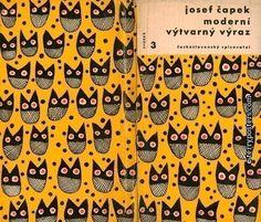 Book cover by Zdeněk Seydl (1916-1978, Czech painter and graphic artist)