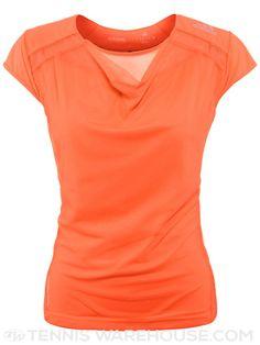#adidas Women's Spring adizero Cap Sleeve Top in Orange