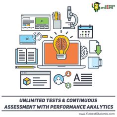 Students can try our Benchmark Test designed for every subject they study in the class. Subsequently, they can take our assessment test modules which gives a detailed performance analysis. Above all, they can also use our personalized workbooks with questions and answers, our Test Generator and NABUmania. Upon registering, they also get access to our pool of #tutors in Mumbai. http://www.genextstudents.com/Tutors/