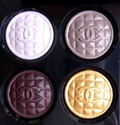 Chanel Signe Particulier Quadra Eyeshadow #Holiday2015 #CollectionVampAttitude