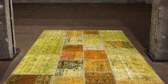 Vintage Yellow Carpet by Miinu