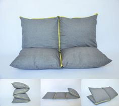 Great floor pillow concept. Especially for kids