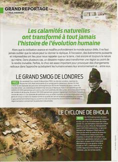 Grand Reportage: Les calamités naturelles - Frawsy