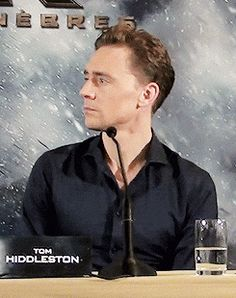 """templeofloki: 'What is with the look on his face he's like """"Somewhere in the world, somebody is misquoting Shakespeare. I can sense it.""""'"""