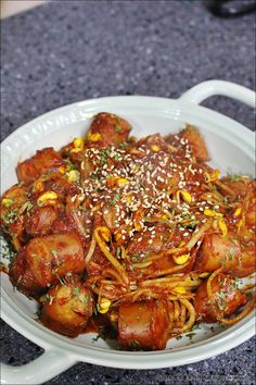Asian Recipes, Ethnic Recipes, Asian Foods, Korean Food, Food Plating, Ratatouille, Chicken Wings, Food And Drink, Cooking Recipes