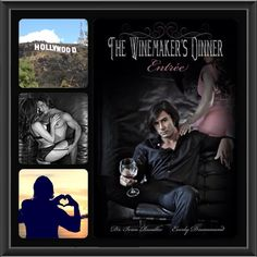 """""""Entree"""" by Everly Drummond and Dr. Ivan Rusilko. Book 2 of The Winemaker's Dinner feast trilogy. Photos by John Conroy and Dr. Ivan Rusilko. Collage by me."""