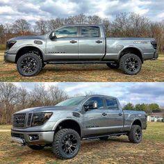 Nissan Titan Lifted, Nissan Titan Xd Diesel, Nissan Titan Truck, Nissan Trucks, New Nissan, Nissan 4x4, Nissan Navara, New Pickup Trucks, Van
