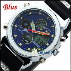 Stylish Unisex Best Quartz Colourful Multifunction Surface Stainless Steel Crystal Band Watches 5PC/LOT OHSEN 1135 on AliExpress.com. $46.88