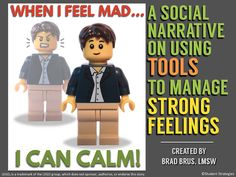 Designed for students who struggle to remain calm when they encounter the challenges of everyday life, this social narrative helps students grow in AWARENESS of their own patterns of frustration and gets them reflecting on tools to help them remain calm. Common frustration-causing scenarios are given, followed by a description of what it LOOKS like and FEELS like when mad. The student is then taught that he or she can use TOOLS to calm when upset...