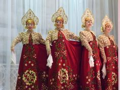 Russian Dance Costumes