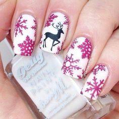 #XmasNails #Nails #NailArt #Xmas
