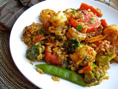 Cajun Shrimp & Rice ~~ Dinner in 15 minutes