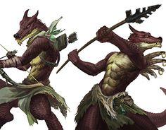 "Check out new work on my @Behance portfolio: ""Kobold warriors"" http://be.net/gallery/50736539/Kobold-warriors"