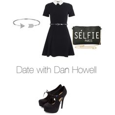 Date with Dan Howell by emily782003 on Polyvore featuring polyvore, fashion, style, Quiz and Bling Jewelry