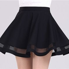 Buy New women skirts Grid Design Pleated Knee-length skirt 2 colors black and dark red Party dress at Wish - Shopping Made Fun Red Skirts, Cute Skirts, Pleated Skirts, Mini Skirts, Summer Skirts, Skirt Midi, Waist Skirt, Mode Grunge, Elegant Party Dresses
