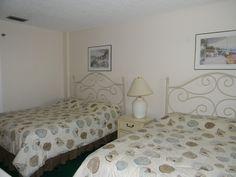 Second bedroom in a 3 bedroom condo