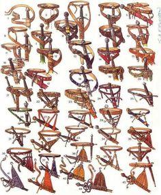 "Adashino Nekoさんのツイート: ""ファンタジー系絵師向け資料。刀剣の吊り皮集 http://t.co/AOMYeLb2Ih"""
