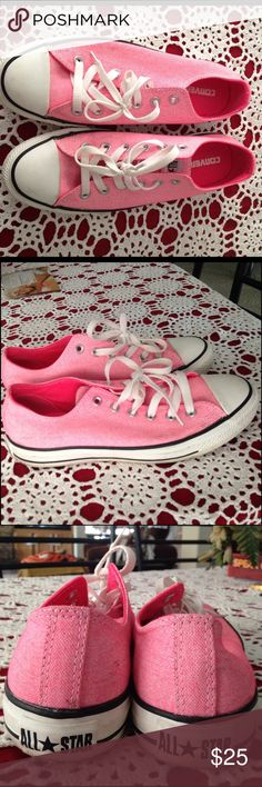 Pink Converse Size 9. Converse Shoes Sneakers