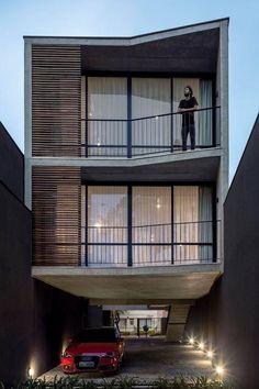 #fachadasminimalistasdepartamentos