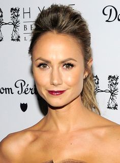 Image result for stacy keibler hair bun