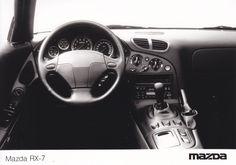 Mazda RX-7 dashboard (1991)