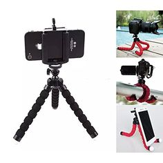 AMTopShow Octopus Style Portable and adjustable Tripod Stand Holder for iPhone Cellphone Length 65 INCH >>> Check this awesome product by going to the link at the image.Note:It is affiliate link to Amazon.