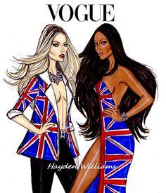 LDN's Finest: Kate & Naomi by Hayden Williams @}-,-;—